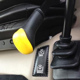 Shiftable 540/540 Economy PTO (5EN Cab)