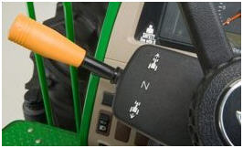 Electrohydraulic left-hand reverser
