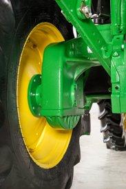 Rear drop axle