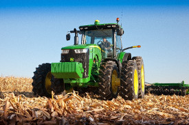 8R Series Tractor equipped with ILS