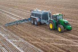 Precision farming starts with guidance