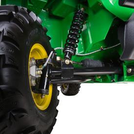Front suspension (TX 4X2 shown)