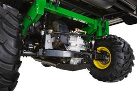 Rear suspension (TX 4X2 shown)