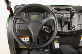 Ergonomically placed controls
