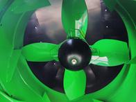 Pás do ventilador do extrator primário