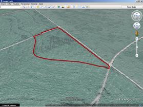 Mapas de localização utilizando o serviço de mapeamento Google Earth™