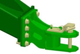 Posição 3 (configuração de fábrica) - recolhedores MegaWide™ Plus