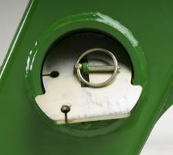 Suportes de estacionamento armazenados no tubo de torque