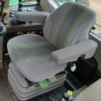 Assento com suspensão pneumática deluxe