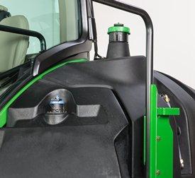 Tanque de combustível no lado esquerdo do 9RT