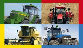 Colis de direction AutoTrac™ Universal pour les anciennes machines JohnDeere et les machines d'autres marques
