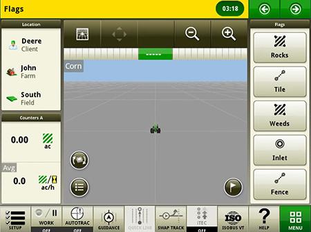 Créer des jalons pour marquer des éléments dans le champ