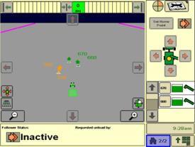 Page sur la logistique du système Machine Sync