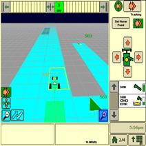 Automatisation et logistique de récolte associées au partage des cartes de couverture