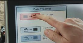 Export de données vers le dispositif USB