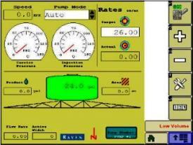 Système SidekickPro™ISO sur l'afficheur GreenStar32630