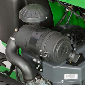Filtre à air à réservoir de type industriel