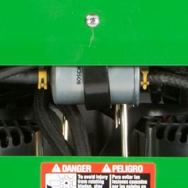 Grand filtre à carburant interchangeable