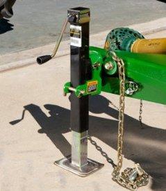 Système hydraulique de stationnement