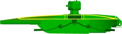 La section transversale est conçue selon le principe Double-Decker exclusif.