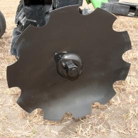 Les disques à encoches sont disponibles en trois tailles.