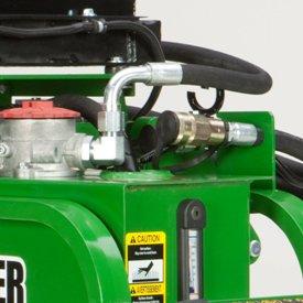 Raccord hydraulique pratique