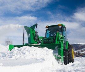 Réduit le bourrage dans la neige lourde