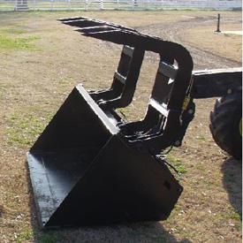 La pince MJ4062 permet de transporter facilement de grandes quantités de débris.