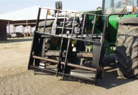 Le chariot MJ4084 permet de stabiliser les charges de manière sécuritaire.