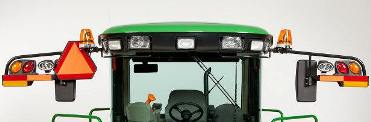 Éclairage avec options de phare rotatif balise et de décharge à haute intensité (DHI)