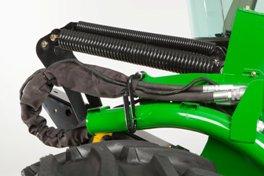 Lieu d'entreposage des flexibles et des câbles