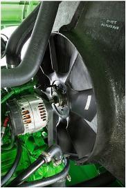 Entraînement du ventilateur à vitesse variable