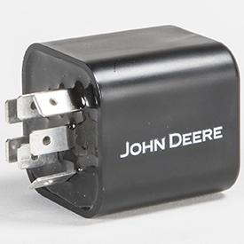 Connecteur de compteur d'heures (côté broche illustré)