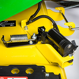 Actionneur électrique de MulchControl avec bouton de commande