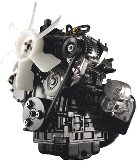 Moteur diesel de 17,9kW (24HP)