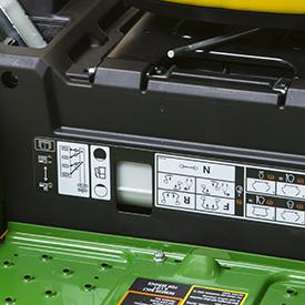 Niveau de carburant facile à vérifier (fenêtre de niveau de carburant)