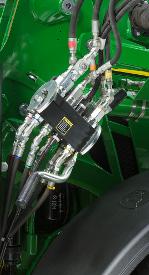 Raccord hydraulique en un seul point sur le modèle5R