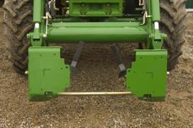 Support pour chargeuse compacte illustré sur les tracteurs5R