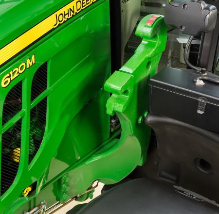 Tracteur 6M avec bâtis de montage de série R