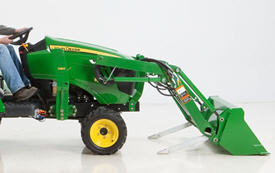 Used Farm Tractors for Sale: John-Deeere-5105-4WD-Tractor