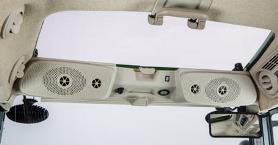 Système de sonorisation de luxe et fenêtre de toit du chargeur