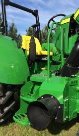 Emplacement de la RCS sur le tracteur5ML