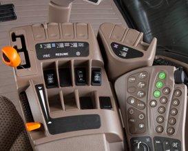 Transmission PST avec Efficiency Manager sur les tracteurs spécial décapeuse de la série9R