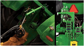 Support de tuyau hydraulique