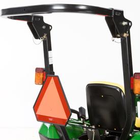 Cadre de sécurité Roll-Gard pliable