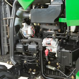 Moteur diesel à trois cylindresYanmar de la sérieTNV