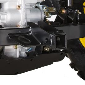 Attelage-récepteur arrière (sur le modèleTX4X2)