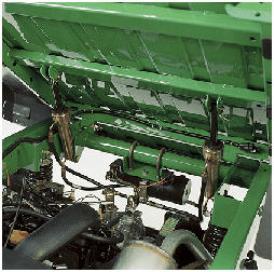 Dispositif de relevage électromécanique de la caisse de chargement installé en usine ou par le concessionnaire