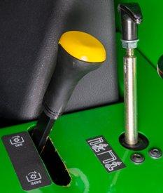 Shiftable 540/540 Economy PTO (5E) for open station tractors