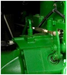 Brake pedal adjustment (left shown)